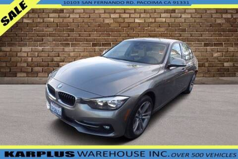 2016 BMW 3 Series for sale at Karplus Warehouse in Pacoima CA