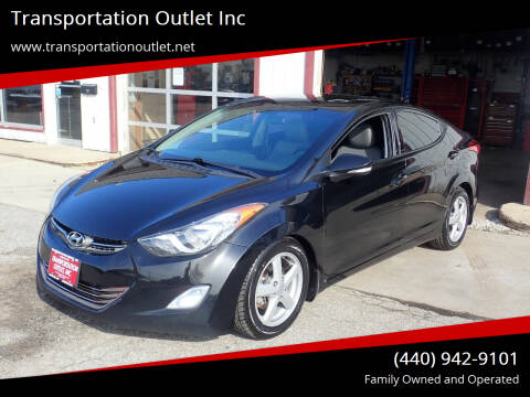 2013 Hyundai Elantra for sale at Transportation Outlet Inc in Eastlake OH