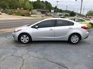 2015 Kia Forte for sale at Howard Johnson's  Auto Mart, Inc. in Hot Springs AR