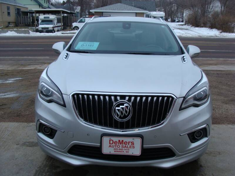 2016 Buick Envision for sale at DeMers Auto Sales in Winner SD