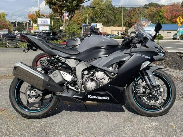 2019 Kawasaki Ninja ZX-6R for sale at All Star Auto  Cycle in Marlborough MA