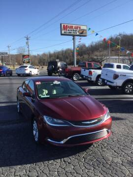 2015 Chrysler 200 for sale at MARLAR AUTO MART SOUTH in Oneida TN