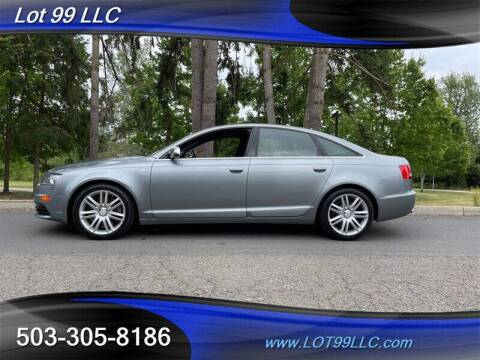 2008 Audi S6 for sale at LOT 99 LLC in Milwaukie OR