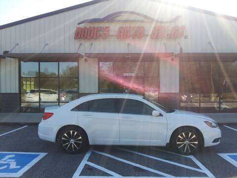 2012 Chrysler 200 for sale at DOUG'S AUTO SALES INC in Pleasant View TN