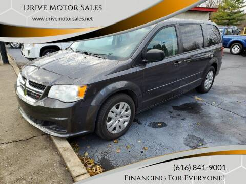 2016 Dodge Grand Caravan for sale at Drive Motor Sales in Ionia MI