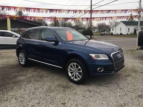 2014 Audi Q5 for sale at Antique Motors in Plymouth IN