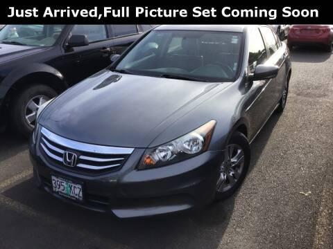 2012 Honda Accord for sale at Royal Moore Custom Finance in Hillsboro OR