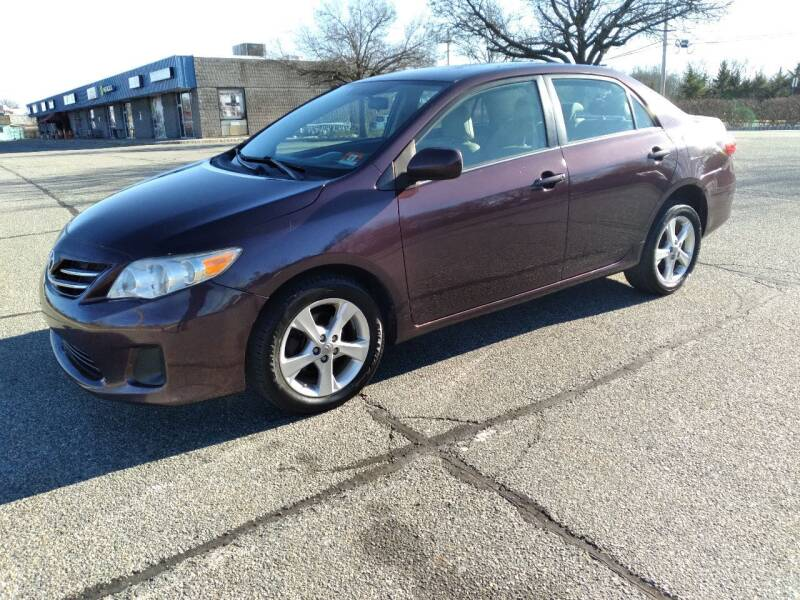 2013 Toyota Corolla for sale at Jan Auto Sales LLC in Parsippany NJ