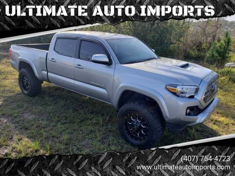 2017 Toyota Tacoma for sale at ULTIMATE AUTO IMPORTS in Longwood FL