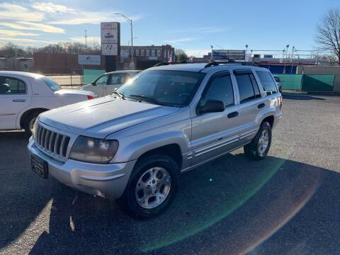 2004 Jeep Grand Cherokee for sale at LINDER'S AUTO SALES in Gastonia NC