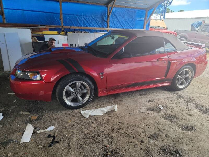 2001 Ford Mustang for sale at ANYTHING ON WHEELS INC in Deland FL