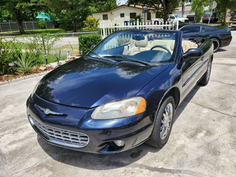 2002 Chrysler Sebring for sale at All Around Automotive Inc in Hollywood FL