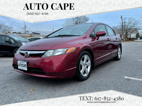 2008 Honda Civic for sale at Auto Cape in Hyannis MA