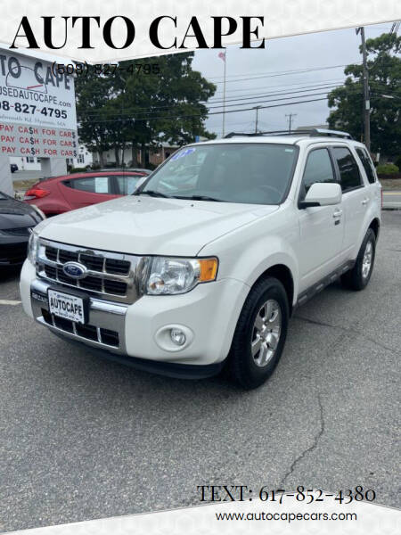 2012 Ford Escape for sale at Auto Cape in Hyannis MA