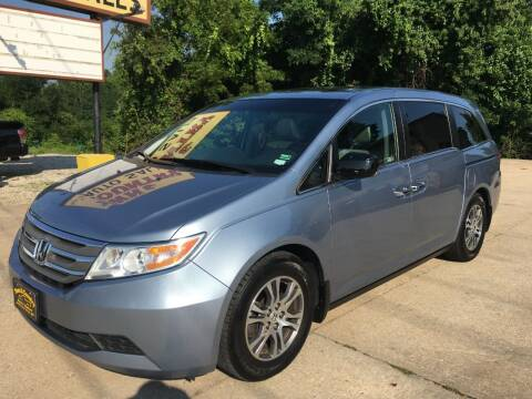 2012 Honda Odyssey for sale at Town and Country Auto Sales in Jefferson City MO
