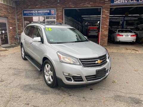 2016 Chevrolet Traverse for sale at Michaels Motor Sales INC in Lawrence MA