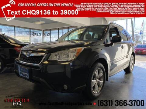 2015 Subaru Forester for sale at CERTIFIED HEADQUARTERS in St James NY