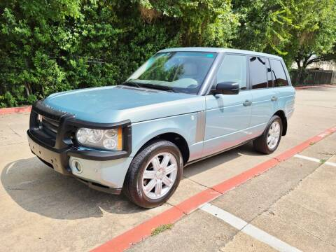 2008 Land Rover Range Rover for sale at DFW Autohaus in Dallas TX
