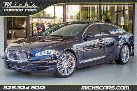 2014 Jaguar XJL for sale at Mich's Foreign Cars in Hickory NC
