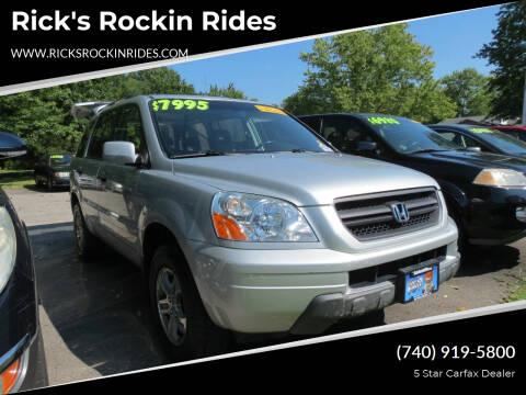 2005 Honda Pilot for sale at Rick's Rockin Rides in Reynoldsburg OH