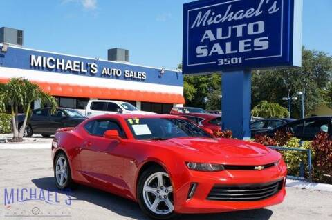 2017 Chevrolet Camaro for sale at Michael's Auto Sales Corp in Hollywood FL