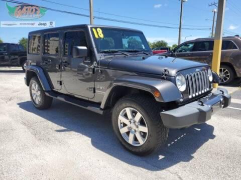 2018 Jeep Wrangler JK Unlimited for sale at GATOR'S IMPORT SUPERSTORE in Melbourne FL