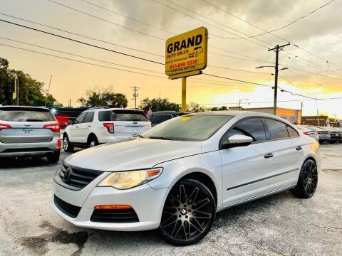 2011 Volkswagen CC for sale at Grand Auto Sales in Tampa FL