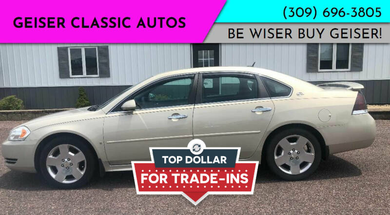 2011 Chevrolet Impala for sale at Geiser Classic Autos in Roanoke IL