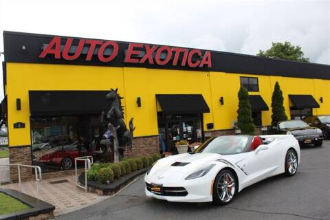 2016 Chevrolet Corvette for sale at Auto Exotica in Red Bank NJ