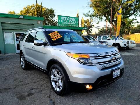 2013 Ford Explorer for sale at Stark Auto Sales in Modesto CA