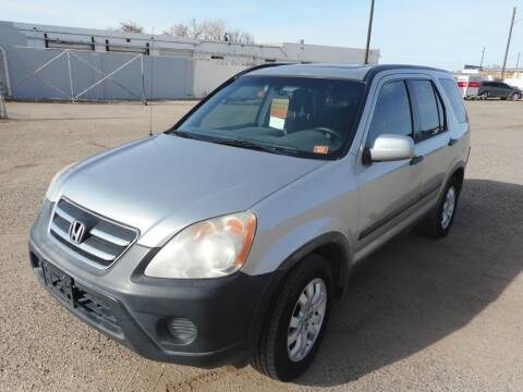 2005 Honda CR-V for sale at AUGE'S SALES AND SERVICE in Belen NM