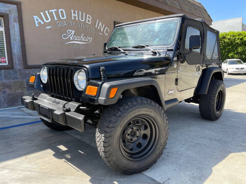 2006 Jeep Wrangler for sale at Auto Hub, Inc. in Anaheim CA