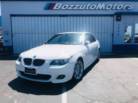 2010 BMW 5 Series for sale at Bozzuto Motors in San Diego CA