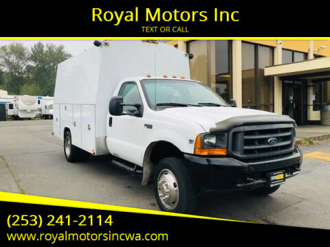 1999 Ford F-450 Super Duty for sale at Royal Motors Inc in Kent WA