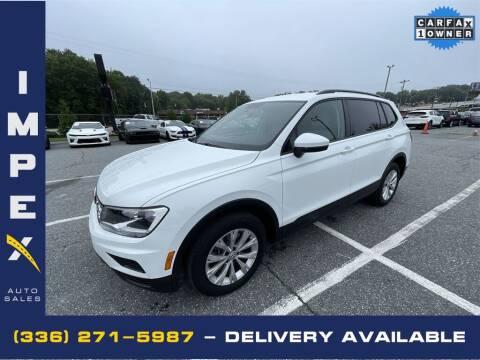 2018 Volkswagen Tiguan for sale at Impex Auto Sales in Greensboro NC