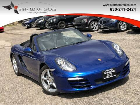 2013 Porsche Boxster for sale at Star Motor Sales in Downers Grove IL