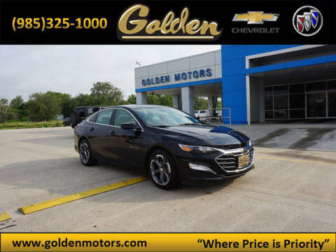 2020 Chevrolet Malibu for sale at GOLDEN MOTORS in Cut Off LA