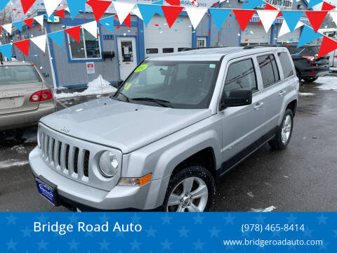 2014 Jeep Patriot for sale at Bridge Road Auto in Salisbury MA