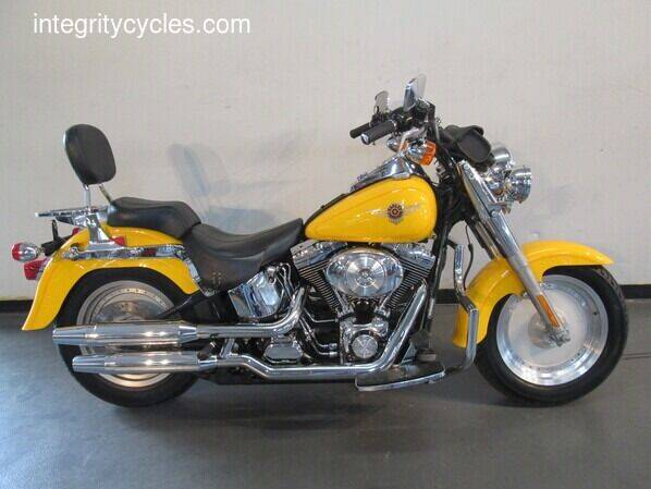 2001 Harley-Davidson FATBOY for sale at INTEGRITY CYCLES LLC in Columbus OH