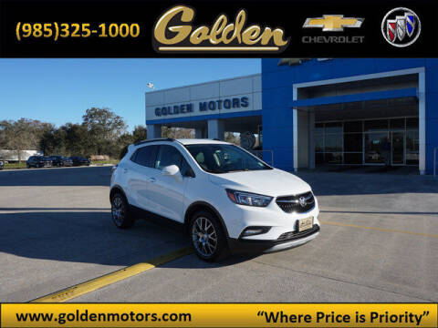 2018 Buick Encore for sale at GOLDEN MOTORS in Cut Off LA