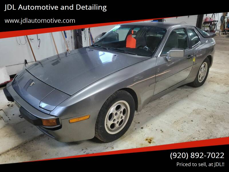 1988 Porsche 944 for sale at JDL Automotive and Detailing in Plymouth WI