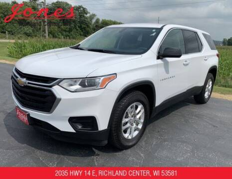 2019 Chevrolet Traverse for sale at Jones Chevrolet Buick Cadillac in Richland Center WI