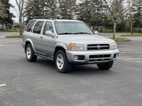 2002 Nissan Pathfinder for sale at H&W Auto Sales in Lakewood WA