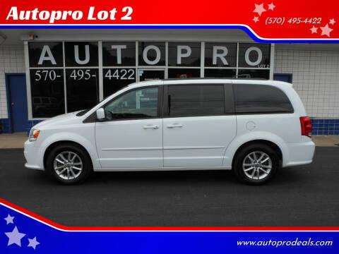 2014 Dodge Grand Caravan for sale at Autopro Lot 2 in Sunbury PA