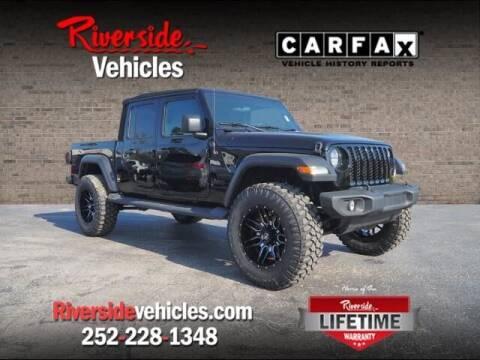 2020 Jeep Gladiator for sale at Riverside Mitsubishi(New Bern Auto Mart) in New Bern NC