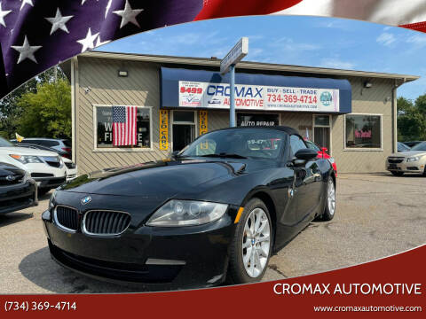 2008 BMW Z4 for sale at Cromax Automotive in Ann Arbor MI
