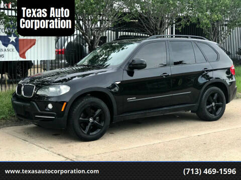 2009 BMW X5 for sale at Texas Auto Corporation in Houston TX