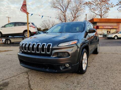 2016 Jeep Cherokee for sale at Lamarina Auto Sales in Dearborn Heights MI