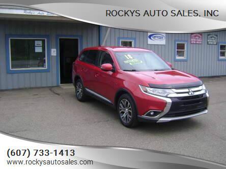 2018 Mitsubishi Outlander for sale at Rockys Auto Sales, Inc in Elmira NY
