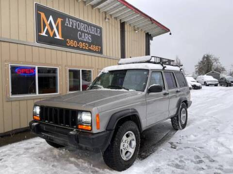 2000 Jeep Cherokee for sale at M & A Affordable Cars in Vancouver WA